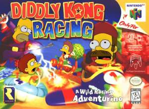 Memes Diddy Kong racing Ned flanders in the Simpsons