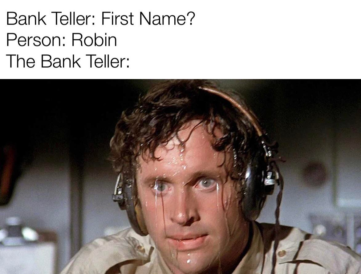 Memes Bank teller