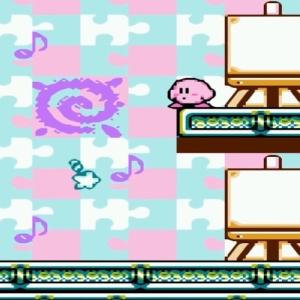 Kirby's Adventure paint roller boss defeated Star Rod NES Nintendo Kirby