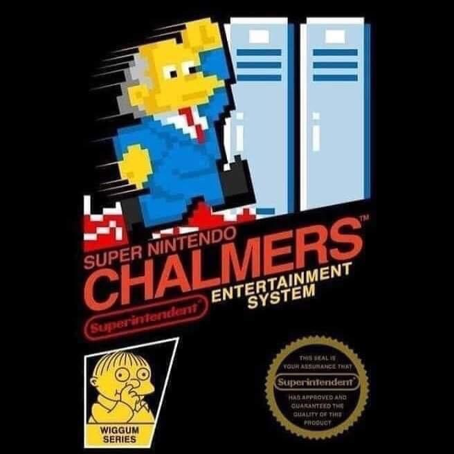 Memes The Simpsons super Nintendo Chalmers