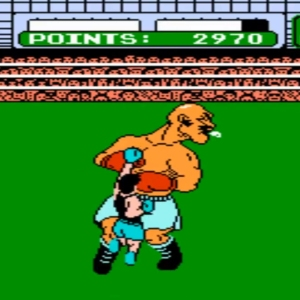 Mike Tyson's Punch-Out boss battle bald bull Nintendo Entertainment System NES