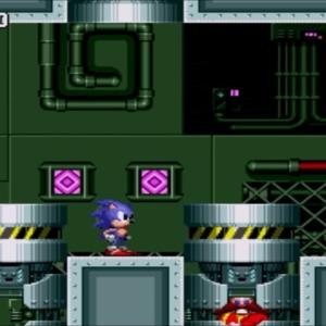 Final boss battle sonic the Hedgehog 1 Sega genesis Sega mega drive
