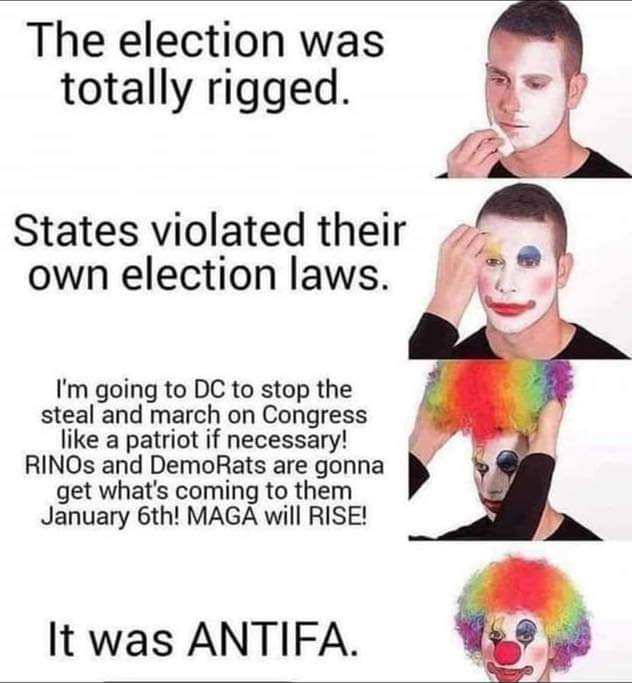 Memes Donald Trump supporters are clowns