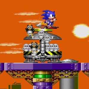 Animals freed Submarine Eggman II Sonic the Hedgehog 2 Sega genesis Sega mega drive