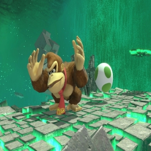 Northern Cave stage super Smash Bros ultimate donkey Kong vs yoshi Nintendo Switch