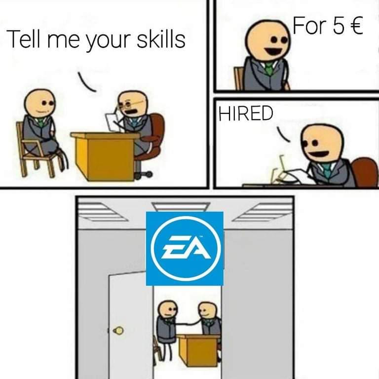 Memes EA games