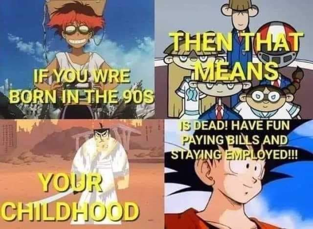 Memes 1990s kids