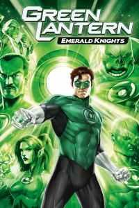 Green Lantern: Emerald Knights movie poster hal Jordan