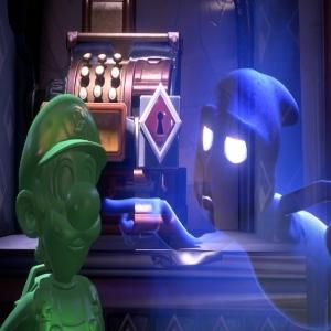 gooigi and blue ghost luigi's Mansion 3 Nintendo Switch