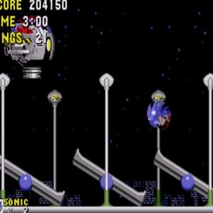 Star Light Zone boss battle sonic the Hedgehog 1 Sega genesis Sega mega drive