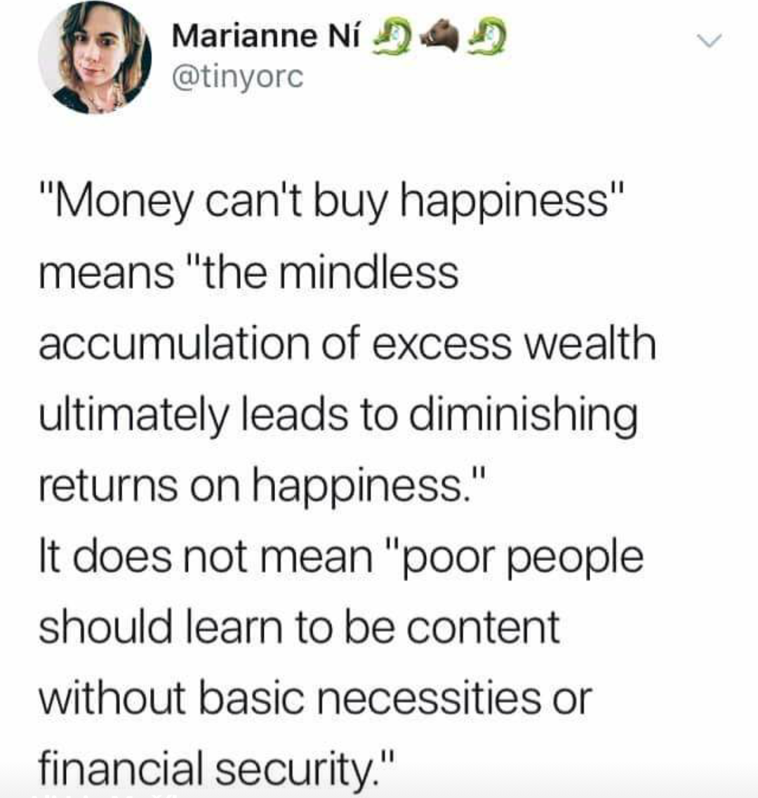 Memes Money can't buy happiness