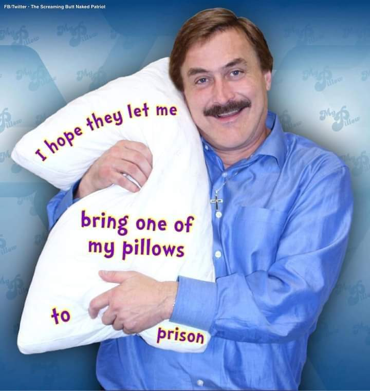Memes My pillow CEO going to jail