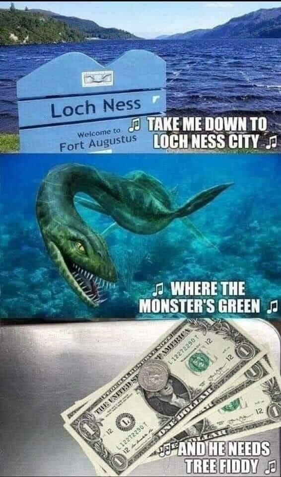 Memes Loch Ness monster South Park