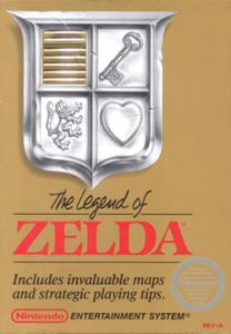 The Legend of Zelda nes boxart Nintendo
