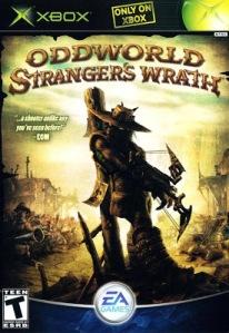 Oddworld: Stranger's Wrath Microsoft Xbox boxart EA games