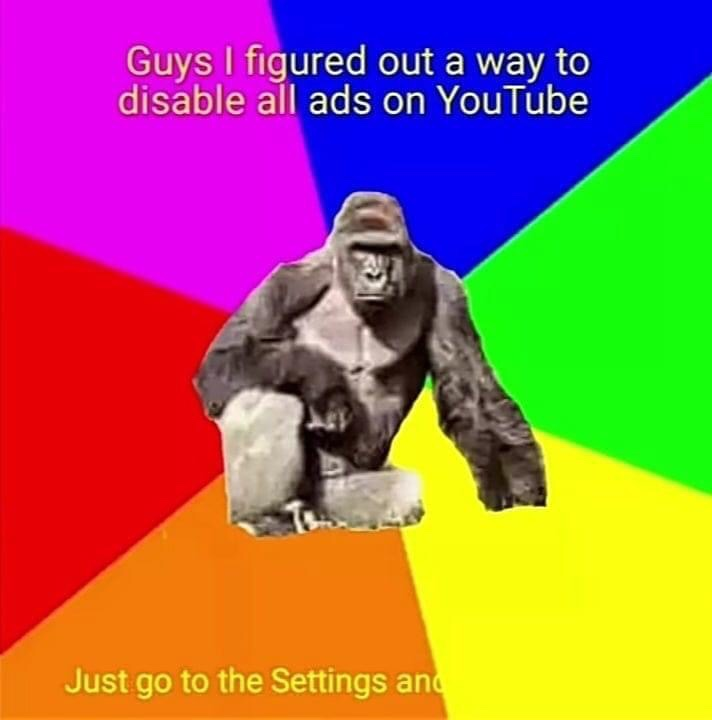 Memes   Harambe message