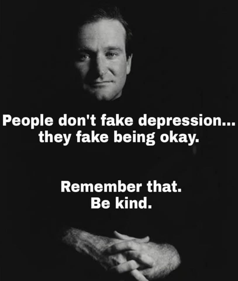 Memes People don't fake depression