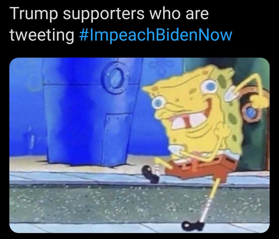 Memes Dumb Republicans trying to impeach Joe Biden
