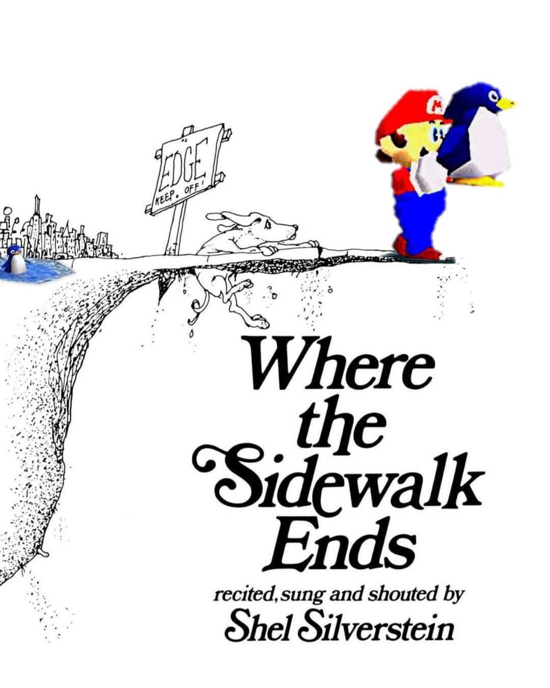 Memes Super Mario 64 penguin throw