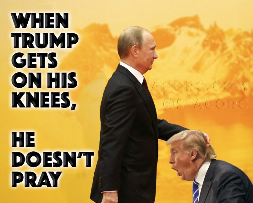 Memes Donald Trump and Putin