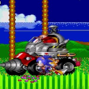 Sonic the Hedgehog 2 drill Eggman Sega genesis Sega mega drive