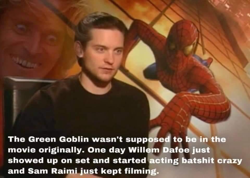 Memes William dafoe Spiderman
