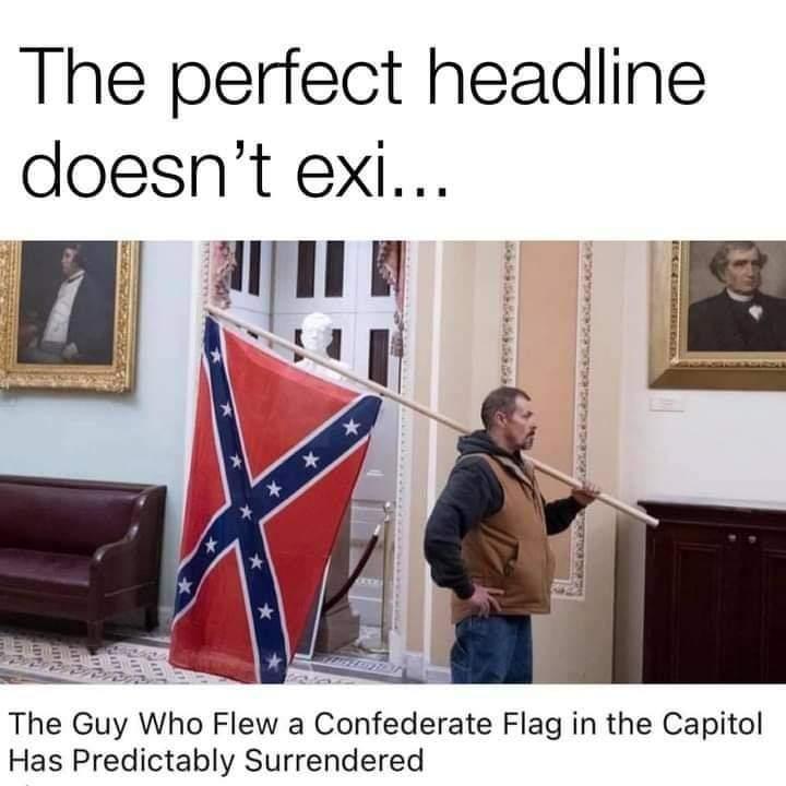 Memes Confederate surrendering