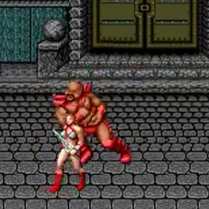 Tyris Flare bikini golden axe Sega genesis arcade