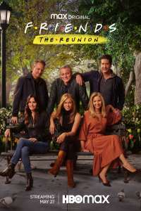 Friends: The Reunion HBO Max reunion poster