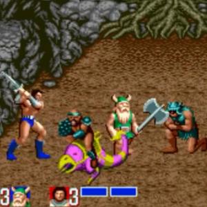 Chicken Leg Gilius Thunderhead ax Battler golden axe Sega genesis arcade Sega megadrive