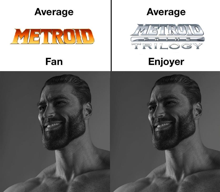 Memes Metroid prime trilogy