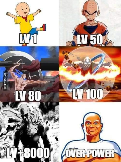 Memes Mr. clean ultimate power