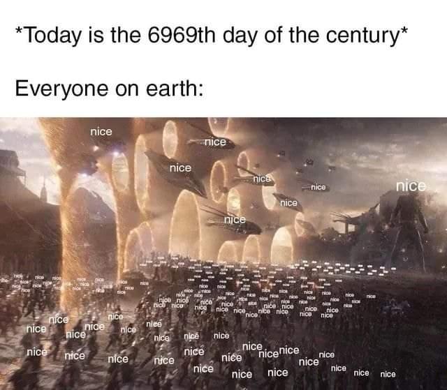 Memes Saying nice