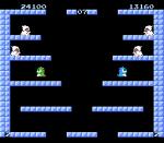 2 player mode bubble Bobble Taito NES