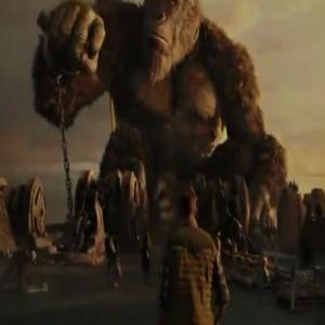 King Kong in chains Godzilla vs. Kong Warner Brothers