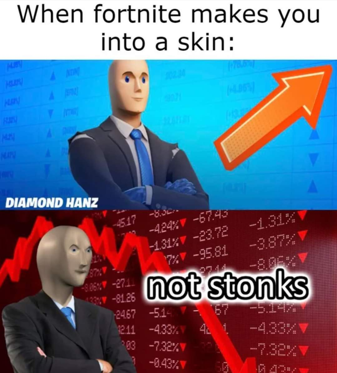 Memes Fortnite video game