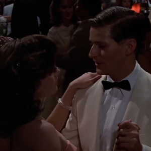 Back to the Future George McFly dances with Lorraine