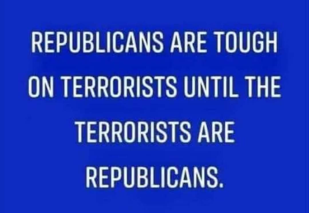 Memes Republican terrorist