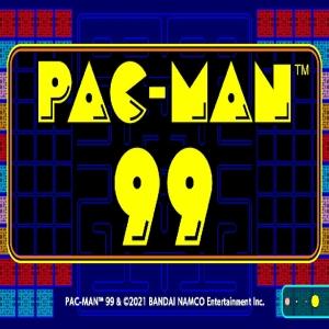 Pac-Man 99 Bandai Namco start screen Nintendo Switch