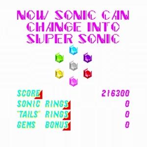 All chaos emeralds Sonic the Hedgehog 2 Special Stage Sega genesis Sega mega drive