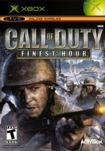 Call of Duty Finest Hour boxart Activision Microsoft Xbox
