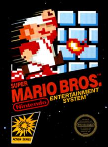 Super Mario Bros 1 boxart NES Nintendo