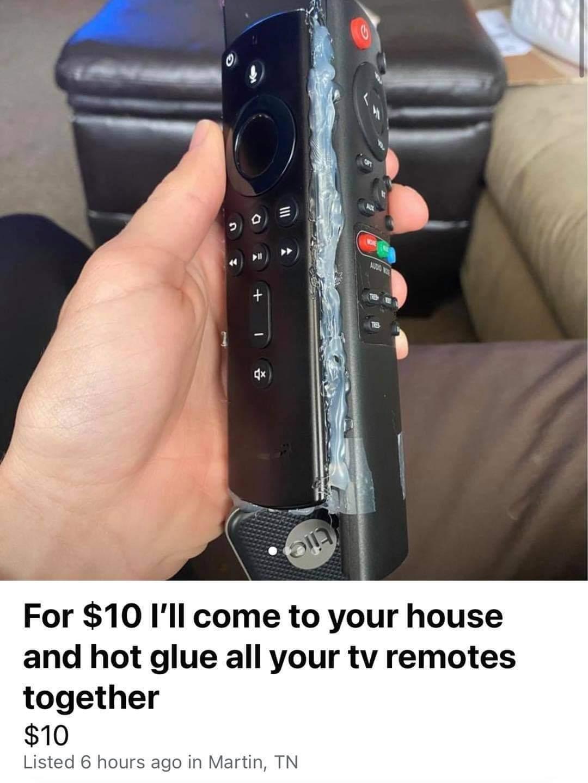 Memes Remote control problems