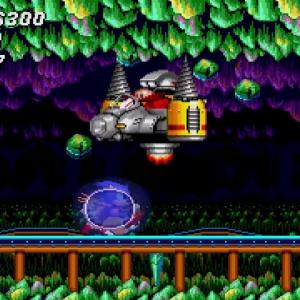 Sonic the Hedgehog 2 Drill Eggman II Sonic and tails Sega genesis Sega mega drive