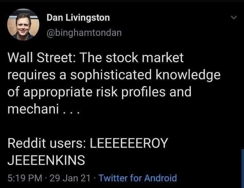 Memes The stock market GameStop