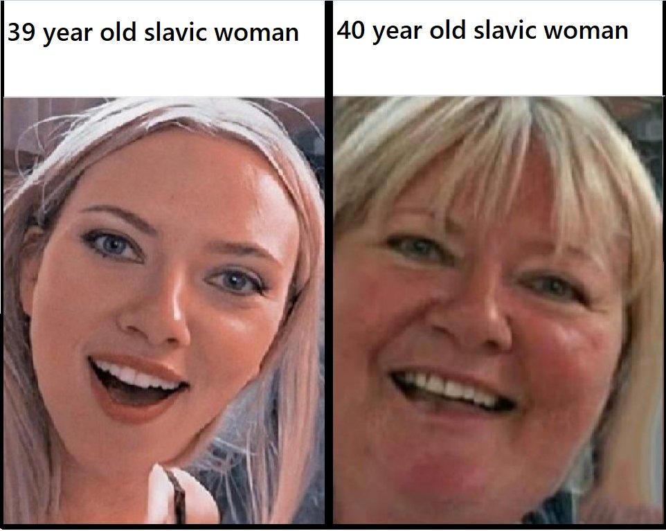 Memes Slavic women