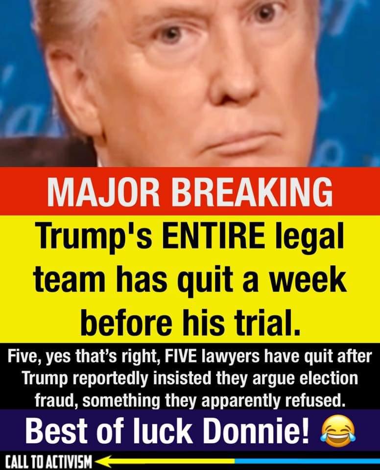 Memes Donald Trump legal team quits