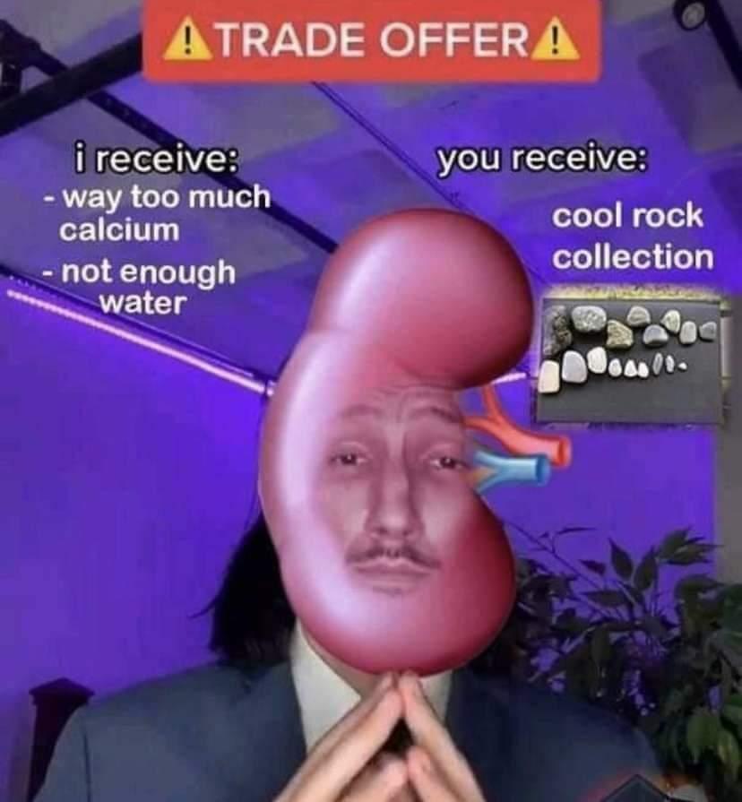 Memes Kidney stones