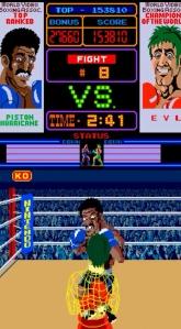 Piston hurricane boss Punchout Nintendo arcade game