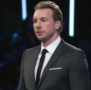 Dax Shepard black suit spin the wheel Fox